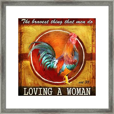 Chicken Little Framed Print by Joel Payne