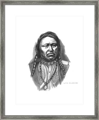 Chief Ouray Framed Print by Lee Updike