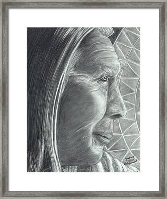 Chief Ten Bears  Framed Print by Bob Schmidt