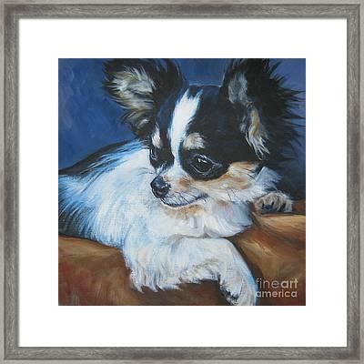 Chihuahua Framed Print by Lee Ann Shepard