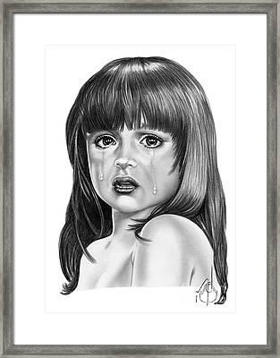 Child Hunger Framed Print by Murphy Elliott