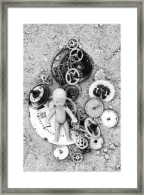Child In Time Framed Print by Michal Boubin