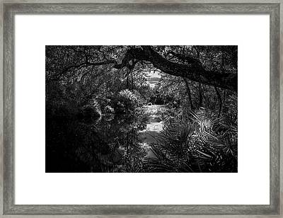 Childhood Creek Framed Print by Marvin Spates