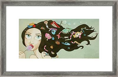 Childhood Memories Framed Print by Dania Piotti