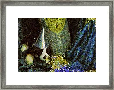 Children - Toys - Happy New Year Framed Print by Mike Savad