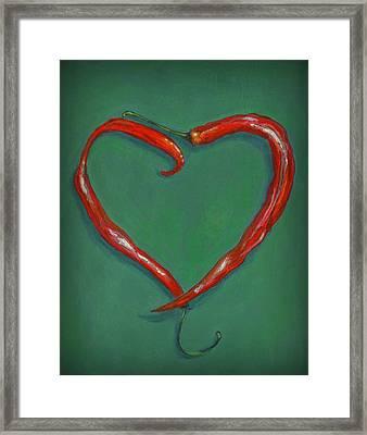 Chiles - Sweet Heat Framed Print by Karyn Robinson
