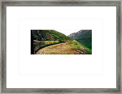 Chilkoot Pass Alaska Framed Print by Tina M Wenger
