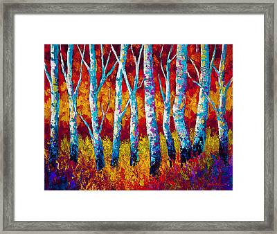 Chill In The Air Framed Print by Marion Rose