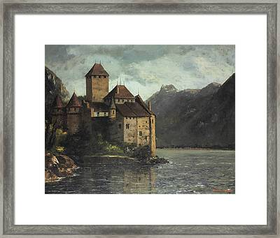 Chillon Castle Framed Print by Gustave Courbet