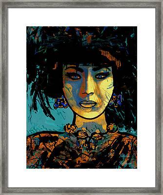 China Girl Framed Print by Natalie Holland