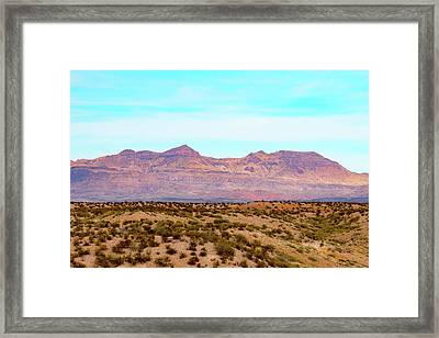 Chinati Range Framed Print by Steven Green