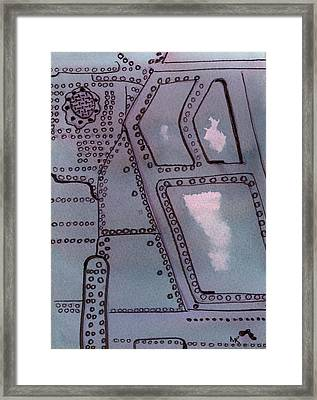 Chinook Rivets Framed Print by Michelle Reeve