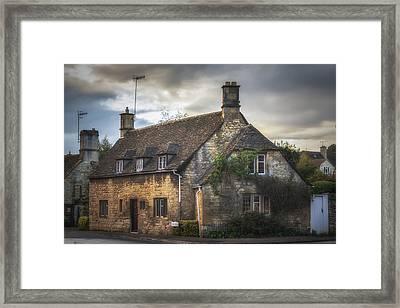 Chipping Camden Cottage Framed Print by Chris Fletcher