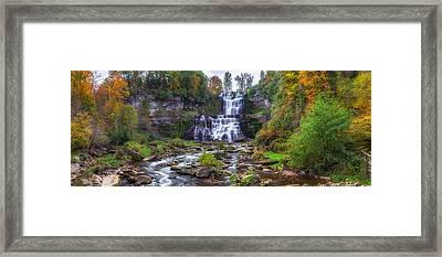 Chittenango Falls Framed Print by Mark Papke