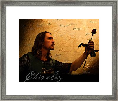 Chivalry Reborn Framed Print by Christopher Gaston