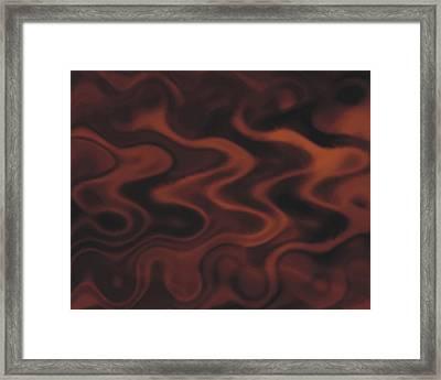 Chocolate Framed Print by Pet Serrano