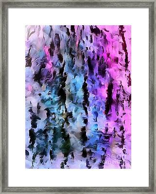 Choose Your Illusion Framed Print by Krissy Katsimbras