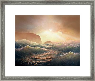 Chop Framed Print by Robert Foster