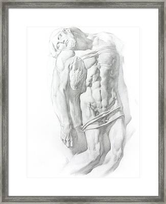 Christ 1 Framed Print by Valeriy Mavlo