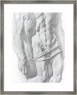 Christ 1b Framed Print by Valeriy Mavlo