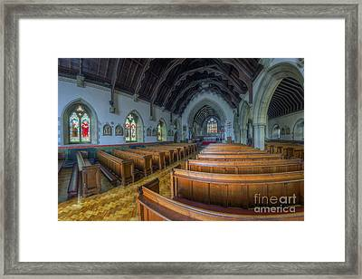 Christ Be Our Light Framed Print by Ian Mitchell