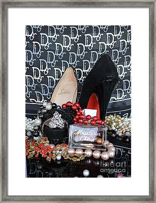Christian Louboutin Shoes 2 Framed Print by To-Tam Gerwe