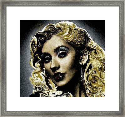 Christina Framed Print by Carole Jacobs