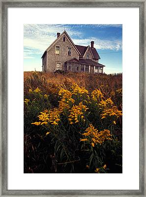 Christina's World Framed Print by Carl Purcell
