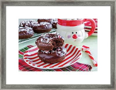 Christmas Breakfast Framed Print by Teri Virbickis