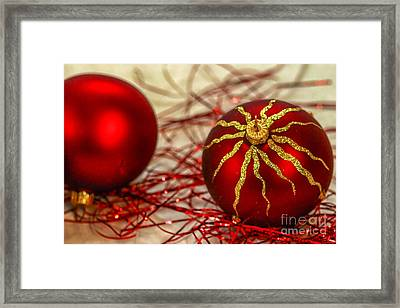 Christmas Decoration Framed Print by Patricia Hofmeester