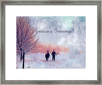 Christmas  Framed Print by Kathy Bassett