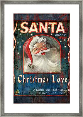 Christmas Love Framed Print by Joel Payne