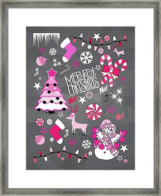 Christmas Framed Print by Mark Ashkenazi