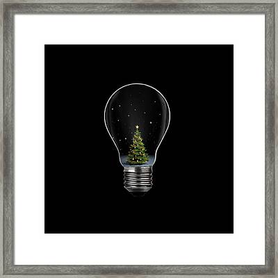 Christmas Framed Print by Octyee
