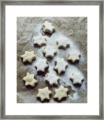 Christmas Stars Framed Print by Marija Djedovic
