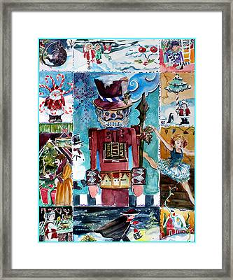 Christmas Suite Framed Print by Mindy Newman