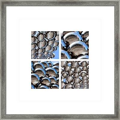 Chrome Spheres Framed Print by Art Block Collections
