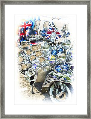 Chromed Classic Framed Print by Tim Gainey
