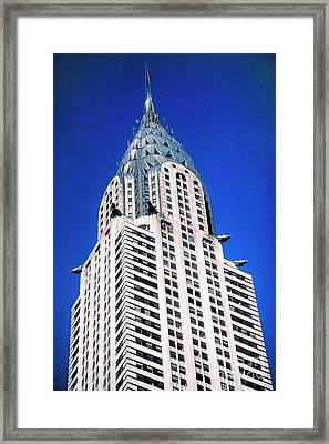 Chrysler Building Framed Print by John Greim