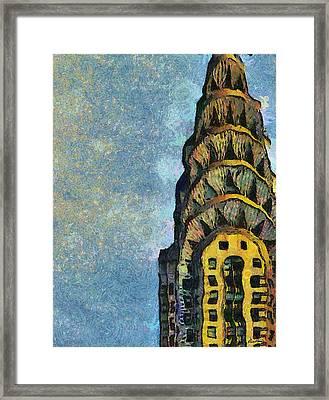 Chrysler Building New York Framed Print by Russ Harris