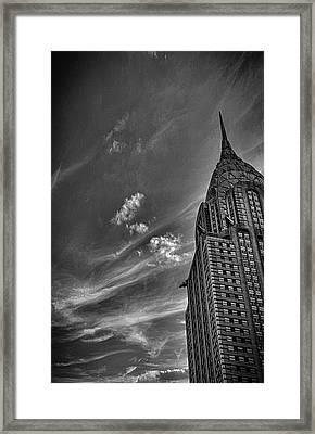 Chrysler Building Nyc Framed Print by Martin Newman