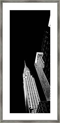 Chrysler Nights Framed Print by Az Jackson
