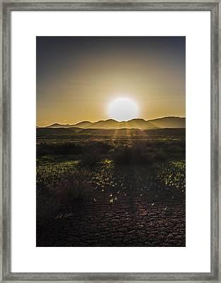 Chupadera National Recreation Trail Framed Print by Bill Kesler