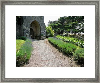 Church Entrance - South West France Framed Print by Dagmar Batyahav