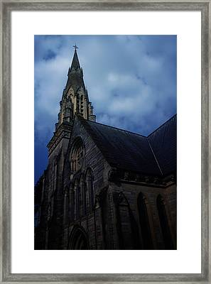Church In Bournemouth - Uk Framed Print by Cambion Art