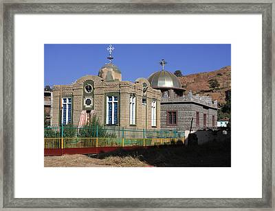 Church Of Our Lady Mary Of Zion Framed Print by Aidan Moran