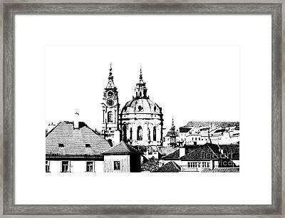 Church Of St Nikolas Framed Print by Michal Boubin