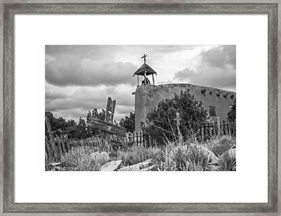 Church Of The Cross Framed Print by Steven Bateson