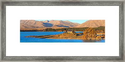Church Of The Good Sheperd Framed Print by Bill  Robinson