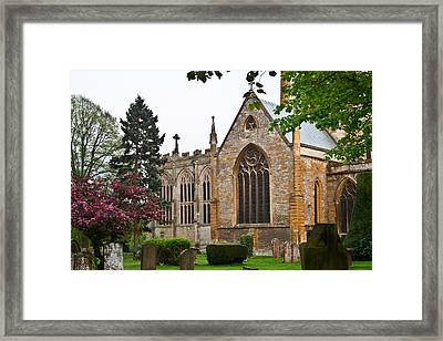 Church Of The Holy Trinity Stratford Upon Avon 3 Framed Print by Douglas Barnett